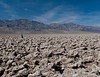 Devil's Golfcourse near Badwater, the lowest point in the United States.  Those are mounds of salt.