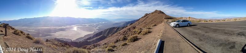 Dante's View overlooking Badwater Basin
