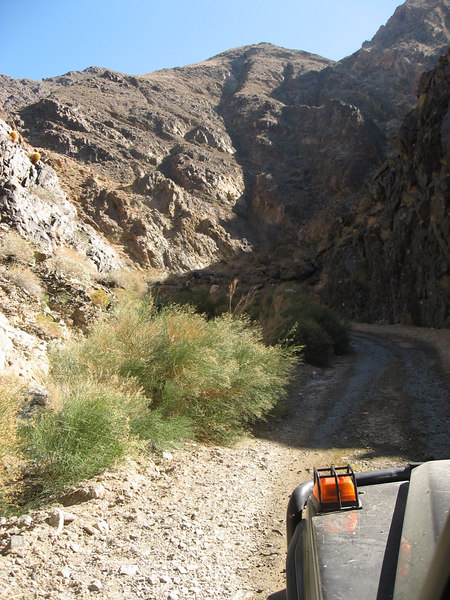 Coyote Canyon Road<br /> <br /> Entering Death Valley National Park