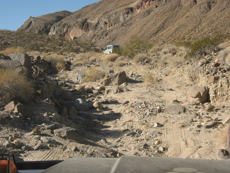 Fish Canyon Trail<br /> <br /> Escape route for some settlers out of Death Valley