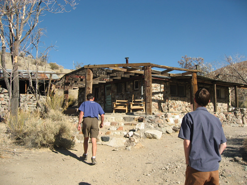 Myer's Ranch off Goler Wash Road<br /> <br /> Charles Manson's last hideout before getting cought....