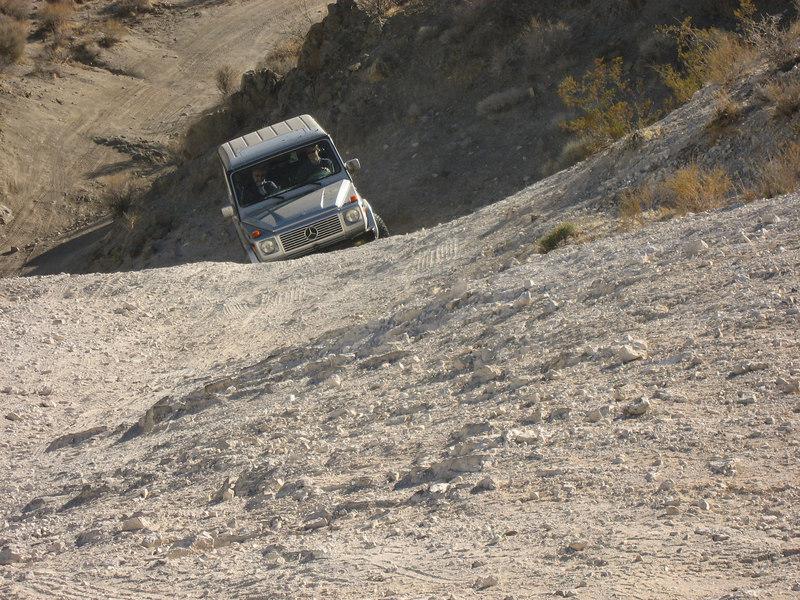 Goler Wash Road