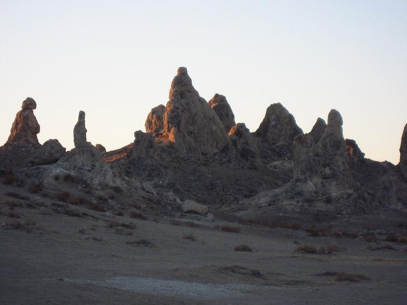 Trona Pinnacles,CA