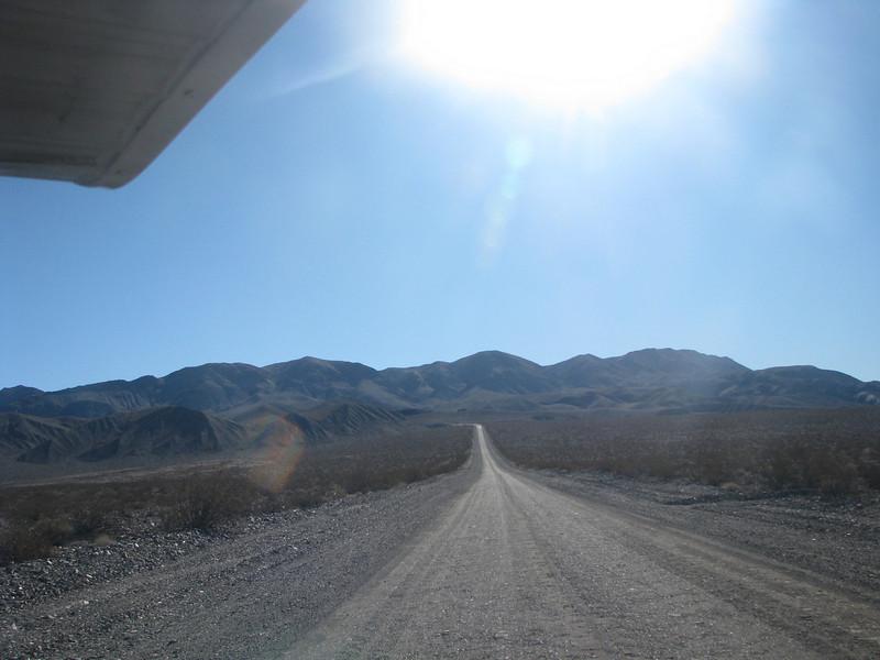 Road back thru Last Chance Mountain.