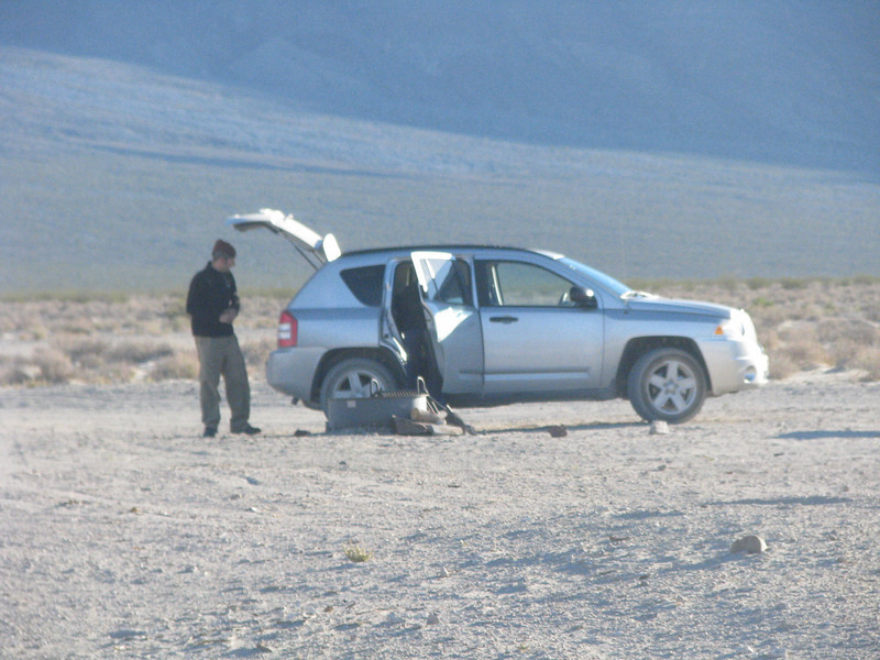A young couple from South Dakota came in after dark, this was there first time to Death Valley.