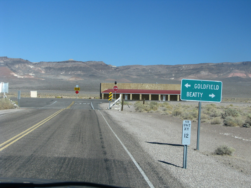 Hwy95 and Beatty to the left.