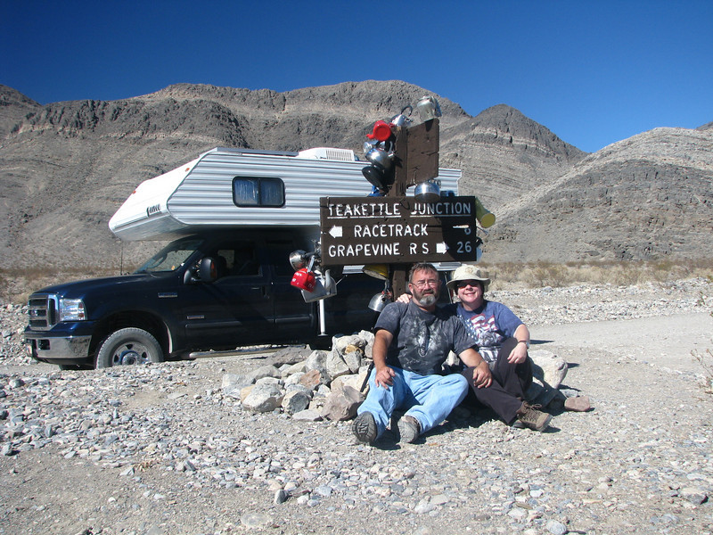 Teakettle Junction<br />  We had gotten cell phone signal and caught up on some voicemail while here.