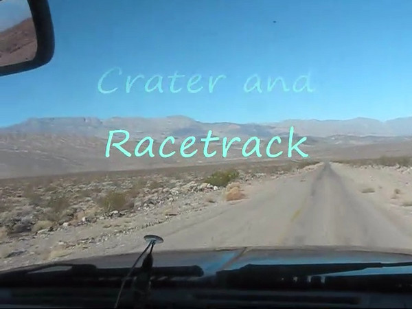 Road to Ubehebe Crater and Racetrack.