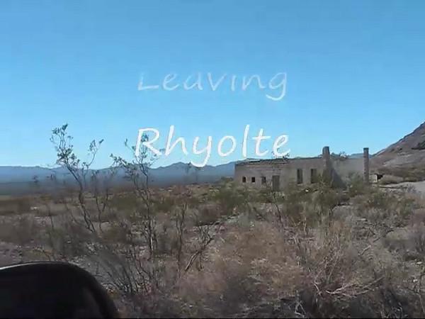 Leaving Rholite