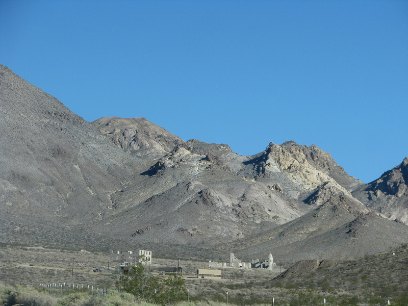 Rhyolite from the entrance road.