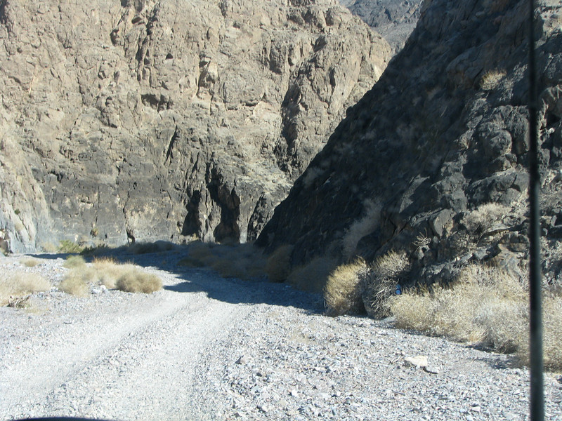 Entering Echo Canyon