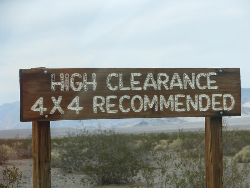 "First warnning sign we saw.                                            35deg 39' 01""N/ 116deg 24' 51""W"