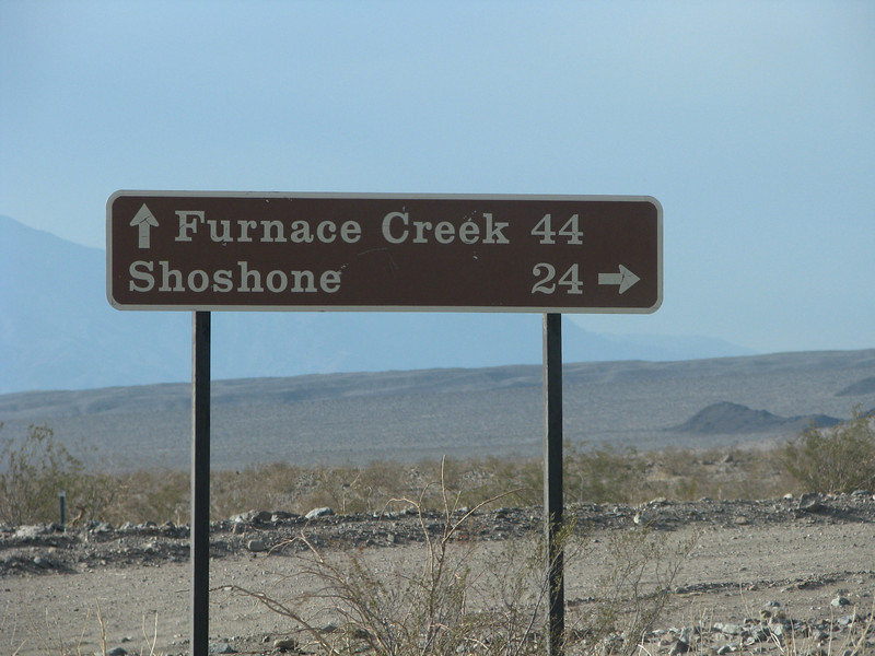 Getting closer to Furnace creek.