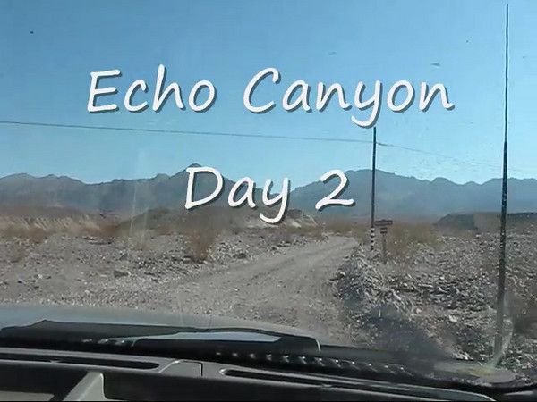 Echo Canyon Day 2