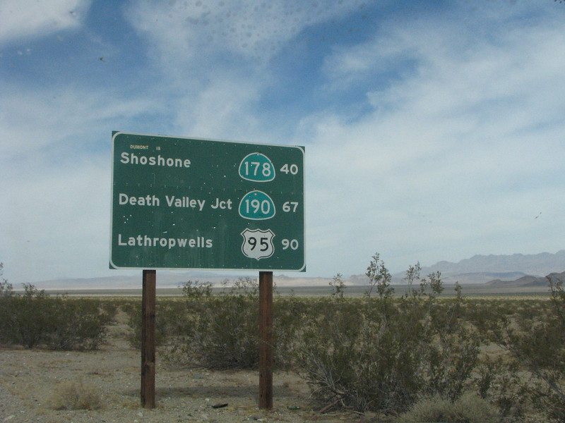Hwy directional sign.