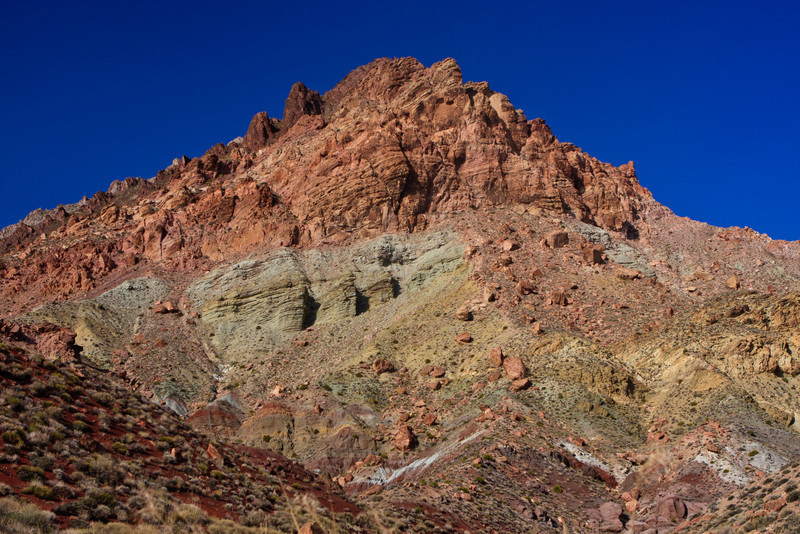Titus Canyon. Beautiful rock colors and formations.