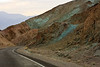 Interesting rock colors near the end of Artist's Drive