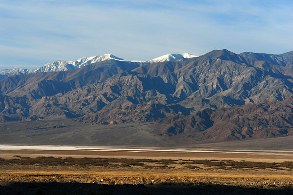 Panamint mountain range
