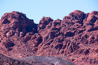 Entrance to  the Valley of Fire- Nevada