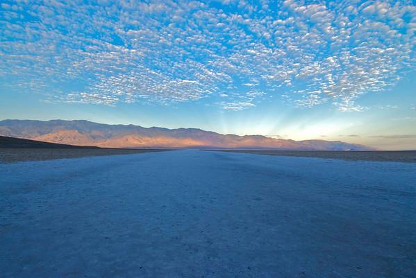 Badwater Flats Sunrise