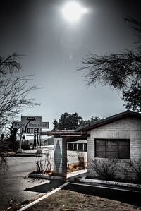 Abandoned Motel - Baker, Calif.