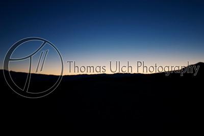 Death Valley at dawn. Death Valley, California.