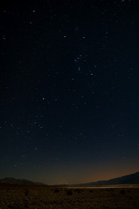 Orion over Salt Flats - 2 minute exposure at 10:30PM