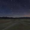 Starlight on the dunes