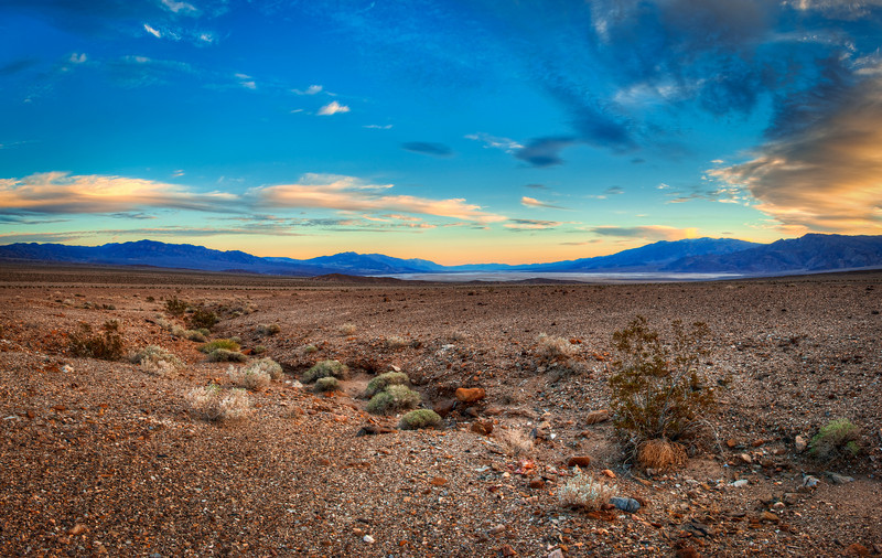 Panorama of Death Valley looking south