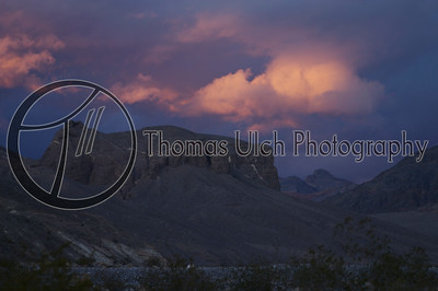 Death Valley at sunset. Death Valley, California.