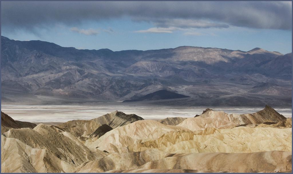 Stormy Day<br /> <br /> Zabriskie Point, Death Valley National Park <br /> April 2009
