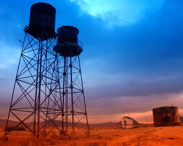 Death Valley Watertowers