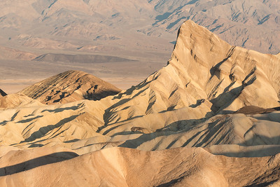 Zabriskie Point, early morning