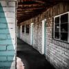 Abandoned Motel - Baker, Calif.