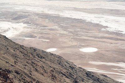 overlooking salt flats of Badwater Basin from Dante's View