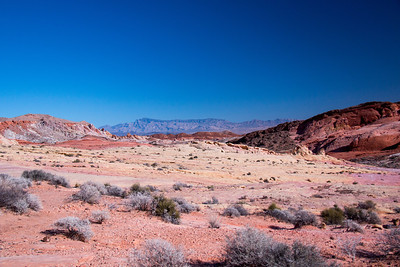 Colour Palette - Valley of Fire- Nevada