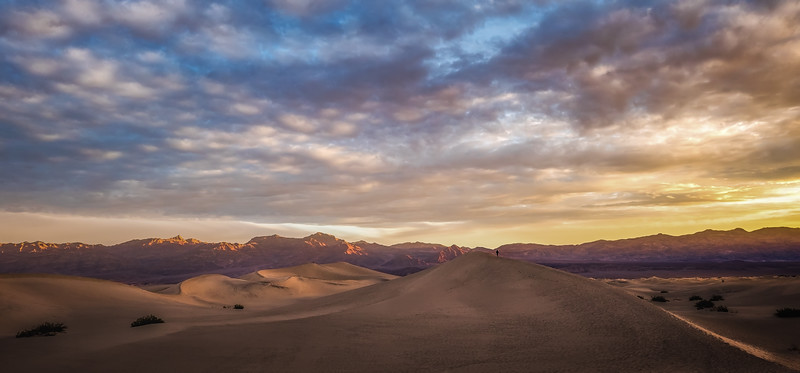 Walking The Dunes Ridgetop