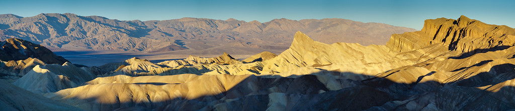 Zabriskie Point at Dawn Panorama 5x8