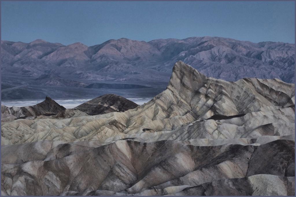 Zabriskie Point, Death Valley National Park<br /> April 2009