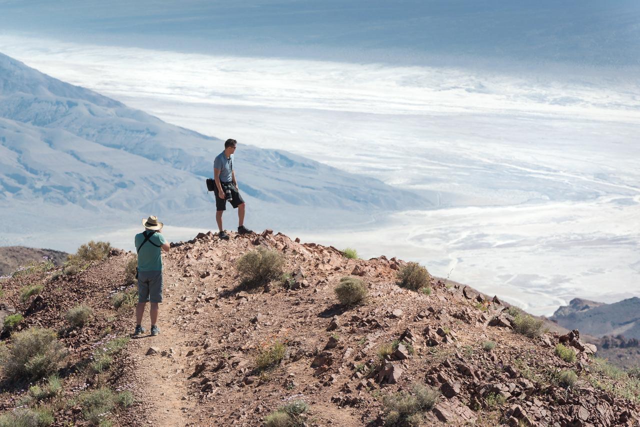 John and Chris at Dante's View.