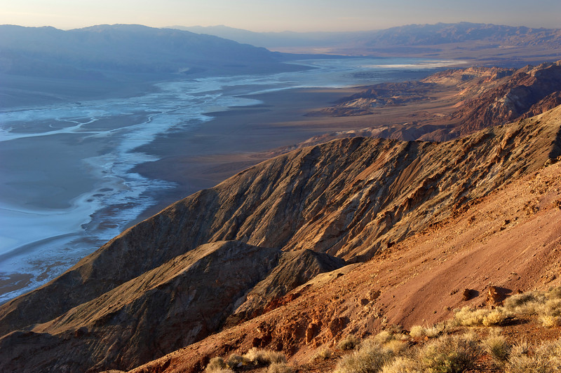 Looking down on Death Valley from Dante's Peak