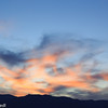Sunset at Golden Canyon near Zabriskie Point
