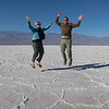 "<span id=""title"">J&A Snapshot</span> <em>Badwater Basin</em> Here we are jumping, because... well, why not?"