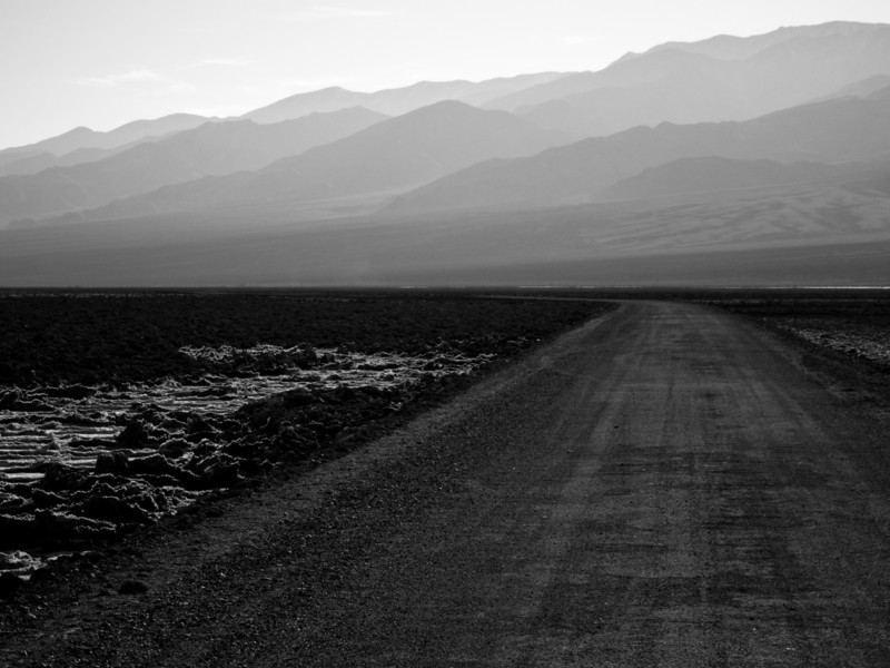 """<span id=""""title"""">Devil's Speedway</span> <em>West Side Road</em> Although most of the unpaved West Side Road was bumpy and dusty, a part of it was incredibly smooth. Like, it was ridiculous. I rarely drive on a paved road that was as nice."""