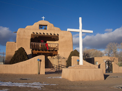 St. Thomas the Apostle Catholic Church, Abiquiu, NM