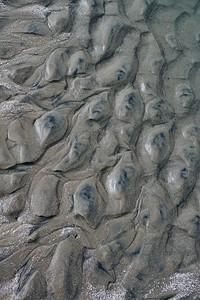 Patterns on the beach at Botany Bay Plantation