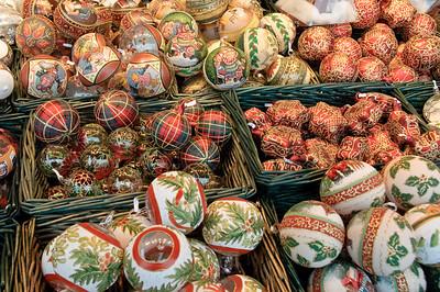 Lots of pretty glass balls.