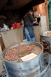 I'm a sucker for hot roasted chestnuts!