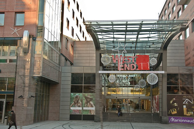 This is Budapest's largest shopping center by the Keleti train station.