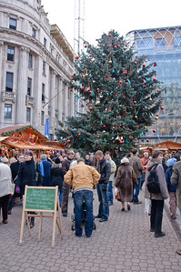 Just another Christmas market crowd...